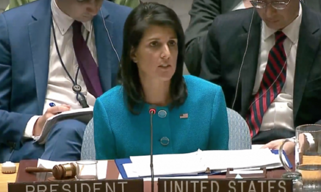 """Nikki Haley: """"Chief Culprit"""" in the Middle East is Iran, not Israel"""