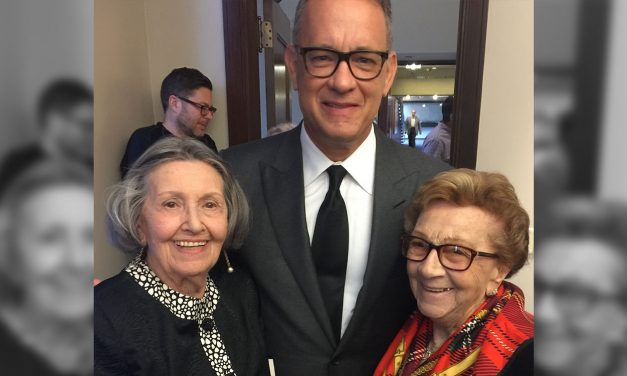"Tom Hanks joins Holocaust survivors in public reading of Elie Wiesel's ""Night"""