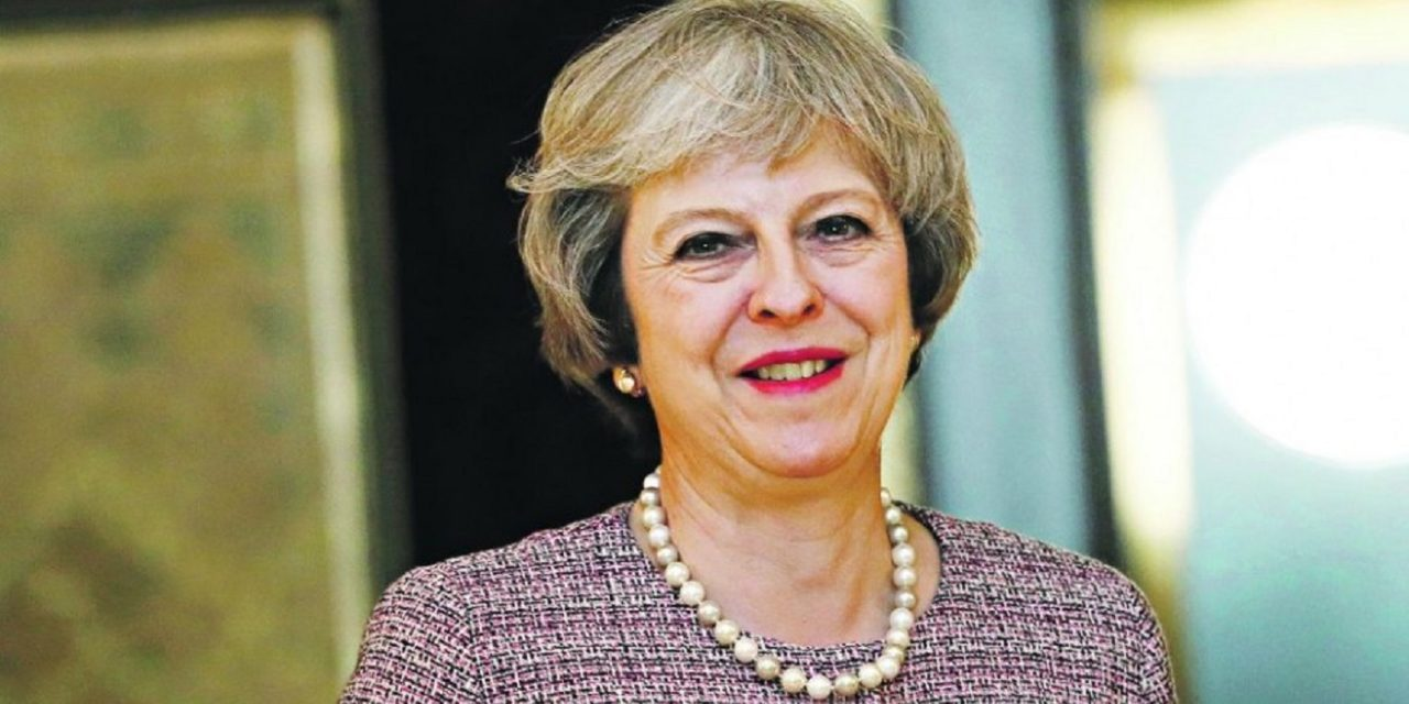 "Theresa May at Passover: ""Without its Jewish community, Britain would not be Britain."""