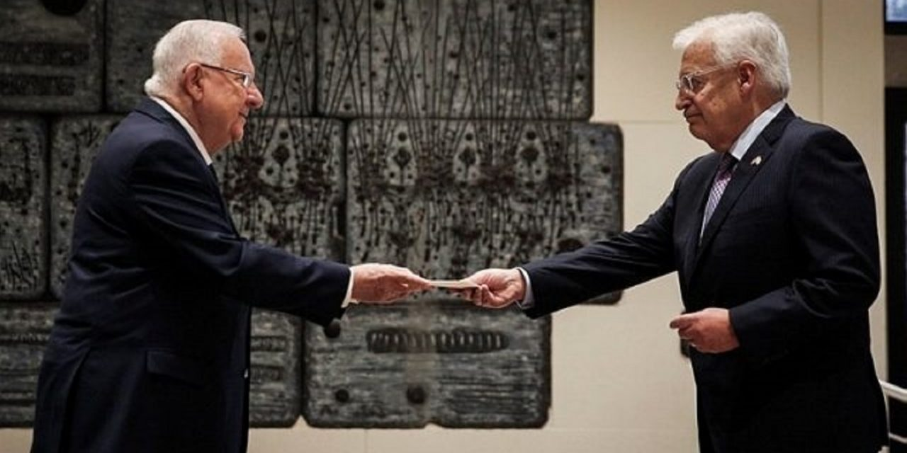 Israel welcomes new US Ambassador David Friedman