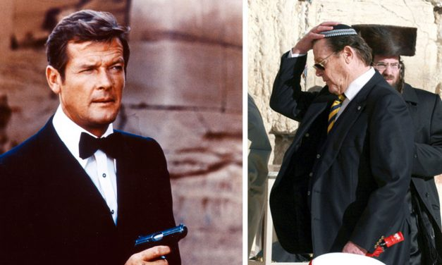 Sir Roger Moore's special bond with Israel