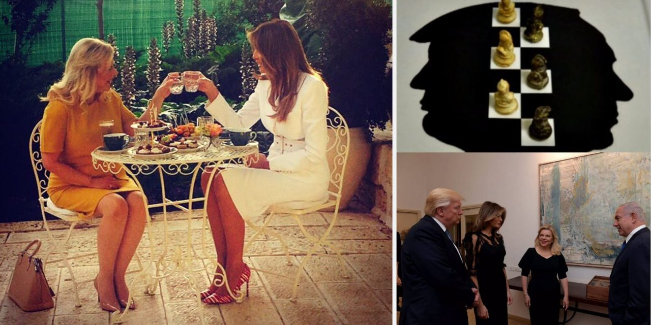 Behind the scenes with the Trumps and Netanyahus