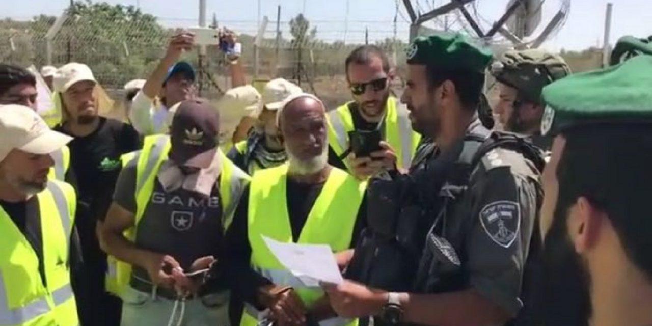 Israeli Police prevent Islamic Movement march to Jerusalem