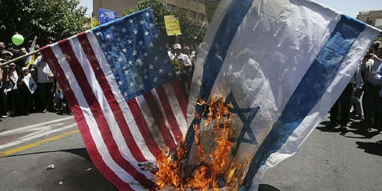 """""""Death to Israel"""" chants, flag burning and anti-West chants at annual Al Quds Day rallies in Iran"""