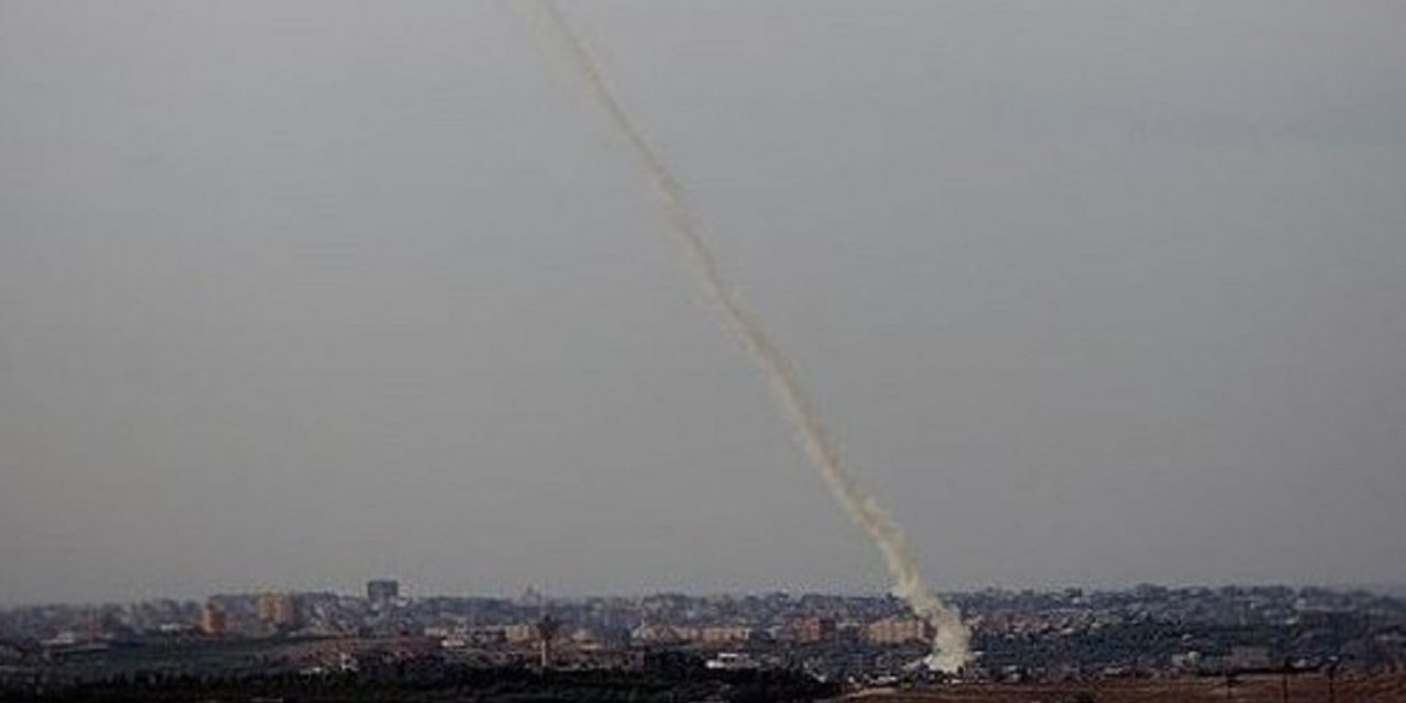 Six rockets fired into Israel from Gaza; Israel responds striking Hamas targets