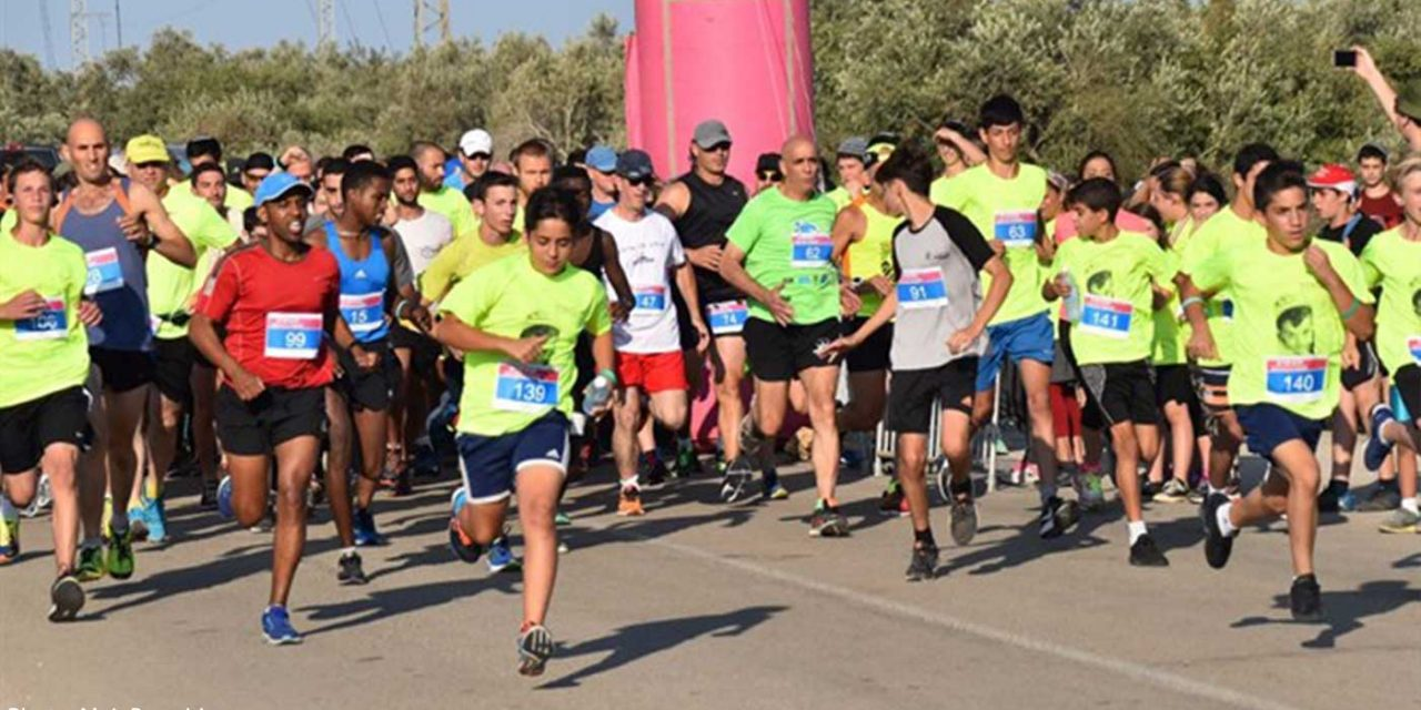 800 Israelis run in memory of 4-year-old terror victim
