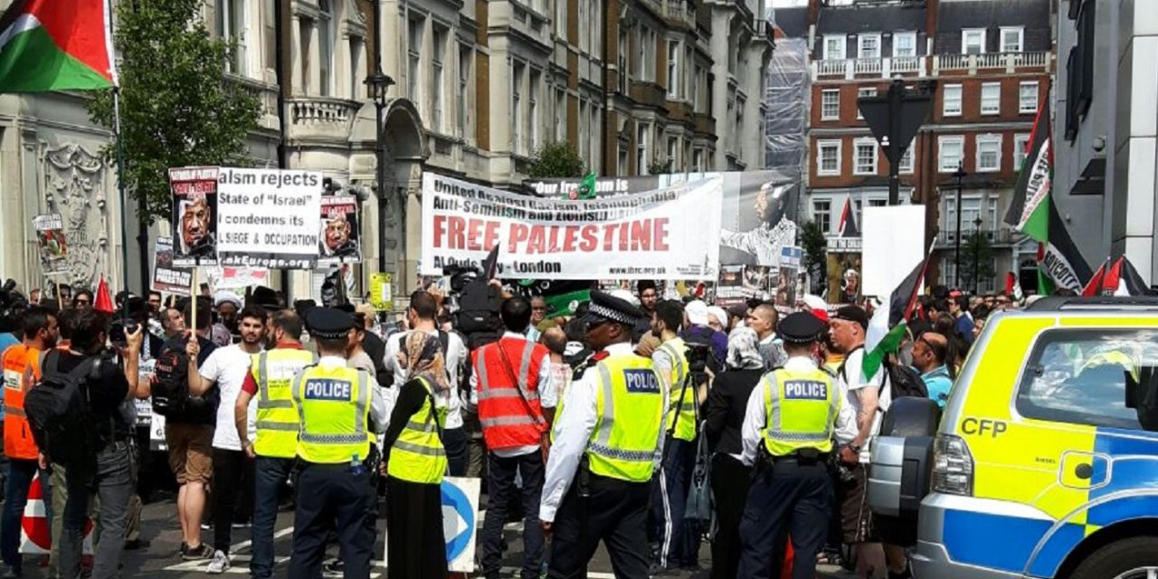 """Zionists responsible for Grenfell"" says speaker at London Al Quds march"
