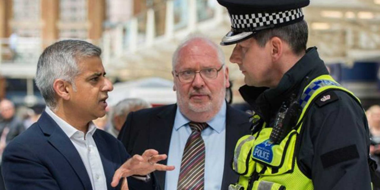 Met police consulting Israeli experts to counter terror in UK says Sadiq Khan