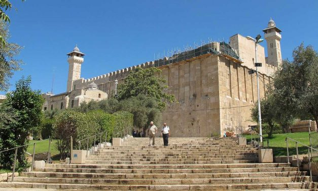 "Palestinian leaders claim disabled access to Tomb of Patriarchs is a ""war crime"""