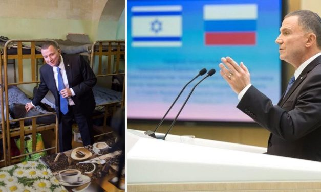 Israel's Knesset speaker, imprisoned in Soviet Union for teaching Hebrew, addresses Russian Parliament in historic moment