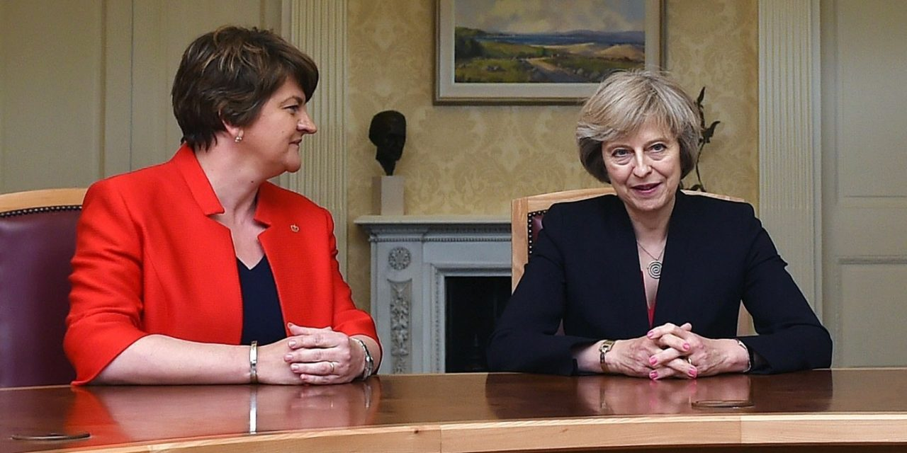 BREAKING: DUP agrees in principle to deal with Conservatives