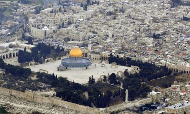 UAE economic delegation visits Temple Mount, is insulted by Palestinians