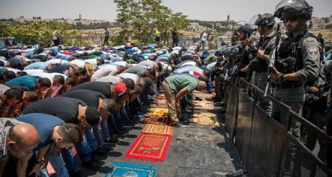 Jew Detector: Muslim Leaders Call On Further Protests DESPITE Israel