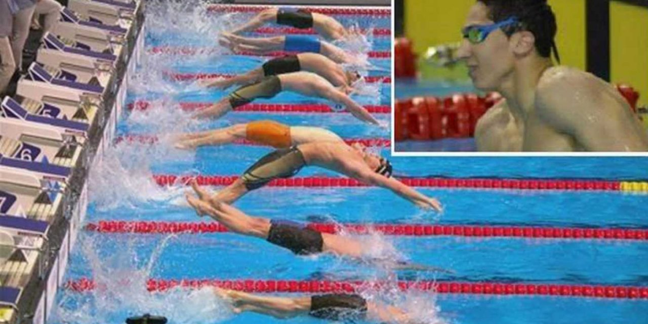 "Algerian swimmer told he ""betrayed"" his country by competing against Israeli, despite winning gold"