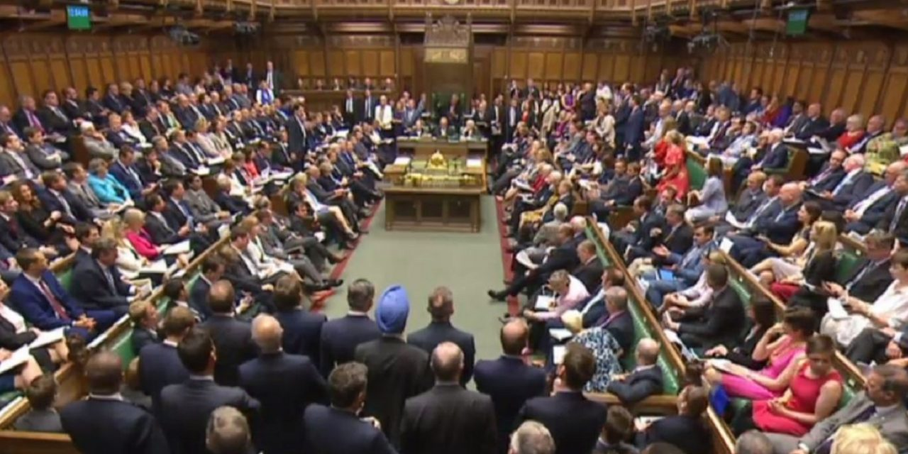 "LIVE Updates: Parliament debate ""Israel and Palestine talks"""