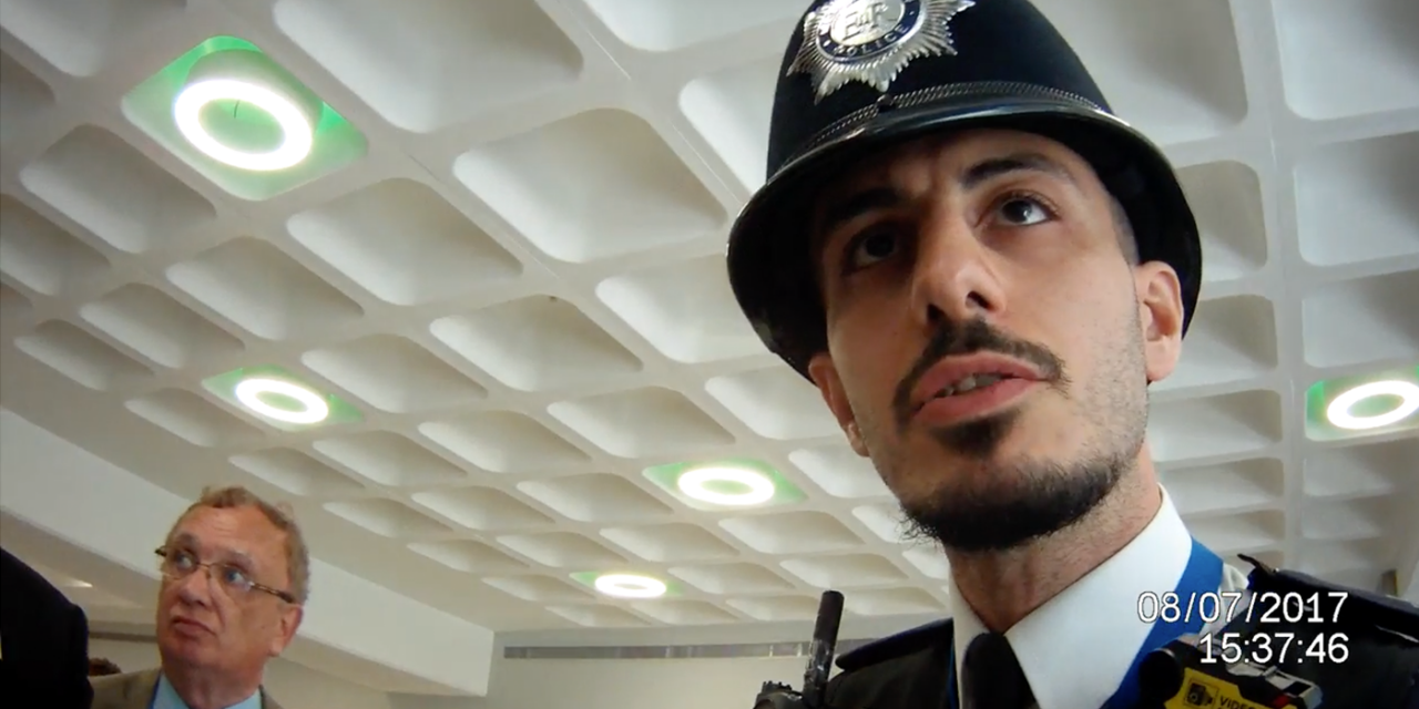 Jewish man thrown out of London 'Palestine Expo' just for being Jewish