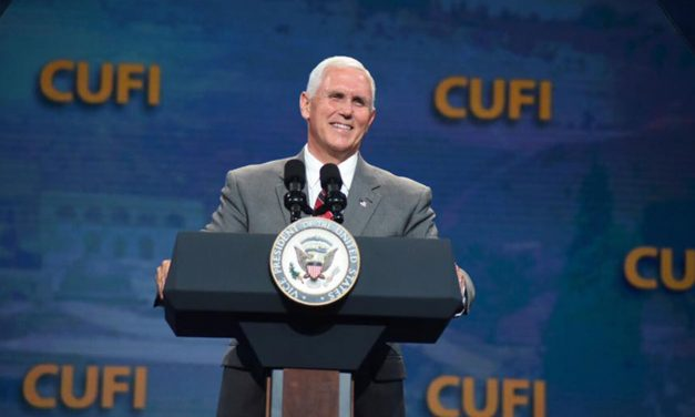 Pence to CUFI: I promise you the American Embassy will move to Jerusalem