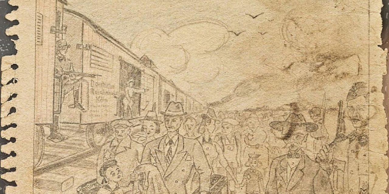 Polish art exhibit shows Auschwitz through inmates' eyes