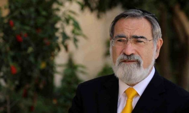 When Rabbi Lord Sacks calls you an anti-Semite, you're an anti-Semite