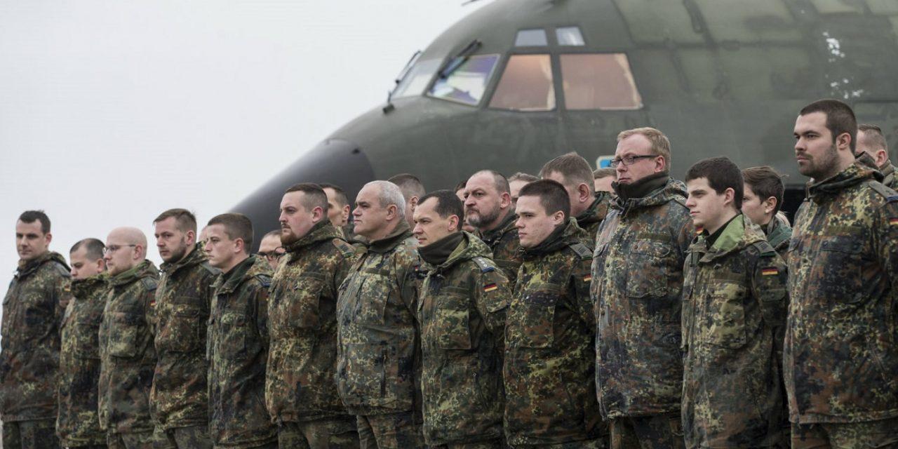 German military dismisses soldier for denying Israel's existence