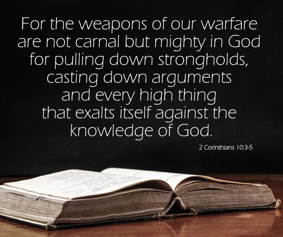 2 Corinthians 10:3-5