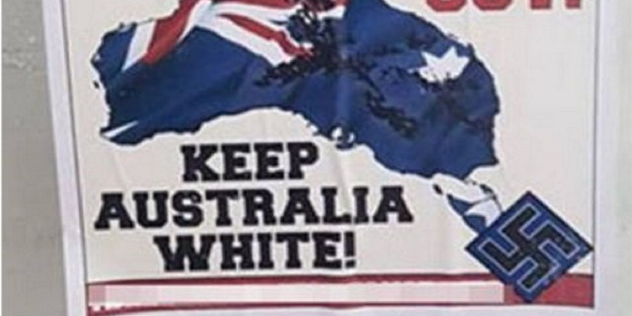 Australia: Neo-Nazi group puts up anti-Semitic posters in Melbourne schools