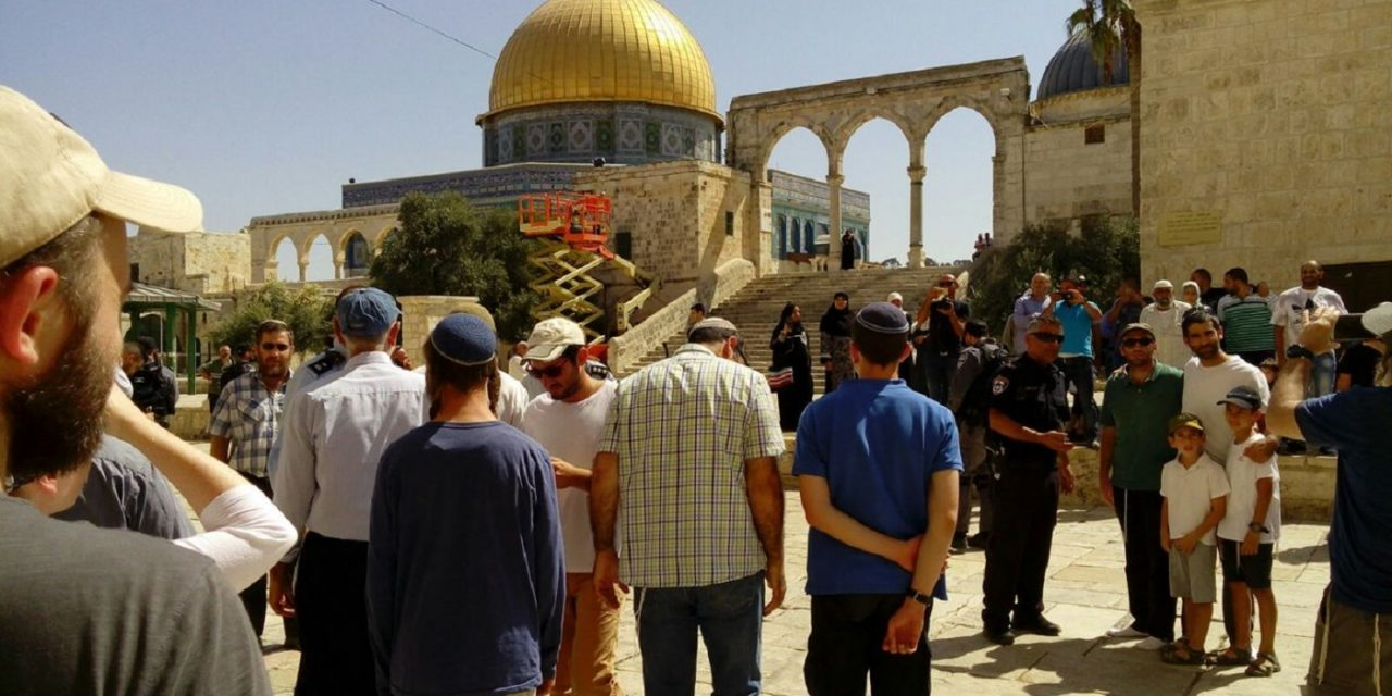 Incredible! Unprecedented number of Jews ascend Temple Mount on day of mourning