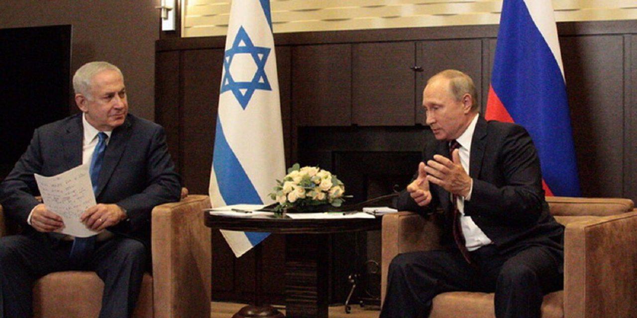 Netanyahu meets Putin in Sochi; discusses threat of Iran