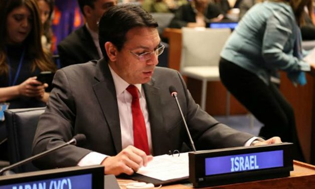 """Stop rewarding the murder of Jews"": Danny Danon calls upon UN to act"