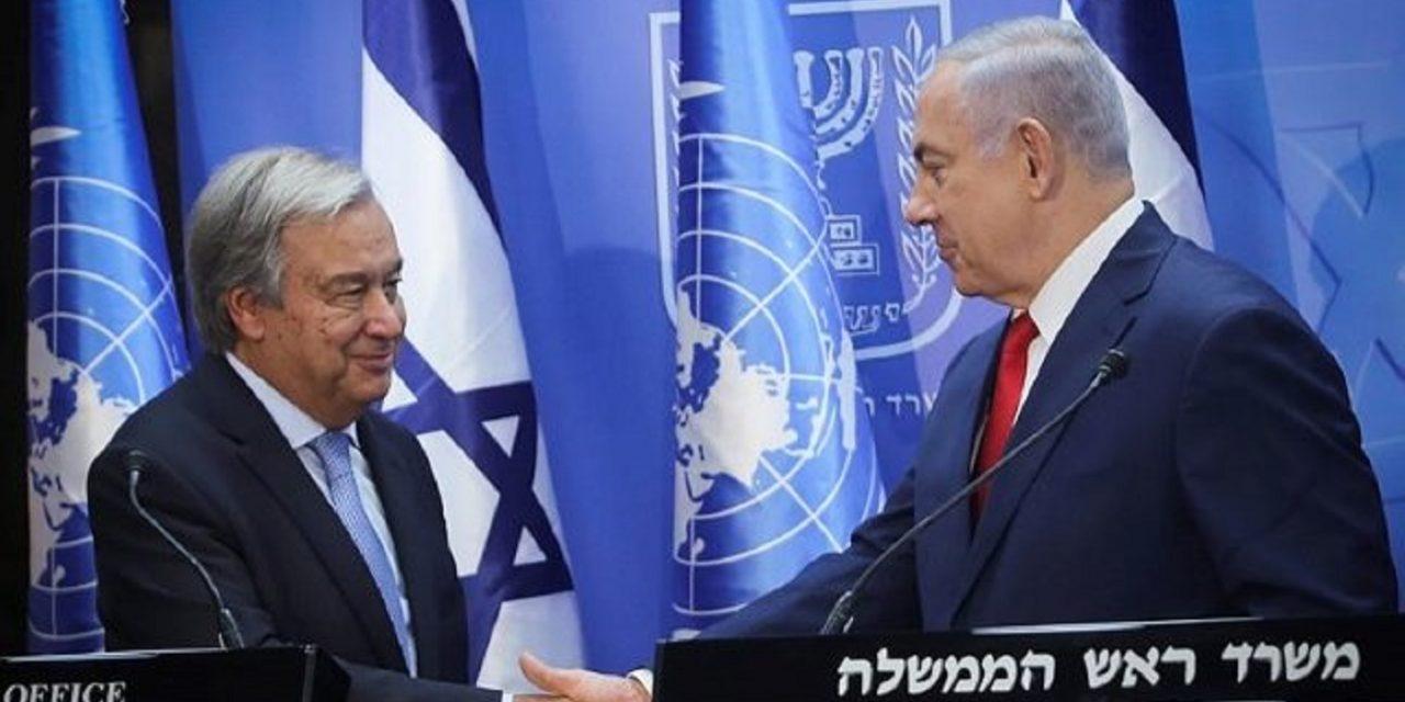 Netanyahu demands UN prevent Iran's threat at Israel's border