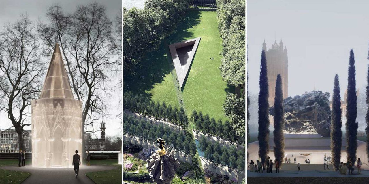 UK's National Holocaust Memorial designs shortlisted – Have YOUR say on the final design