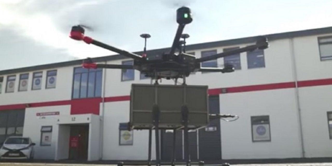 Reykjavik having Israeli drones deliver food