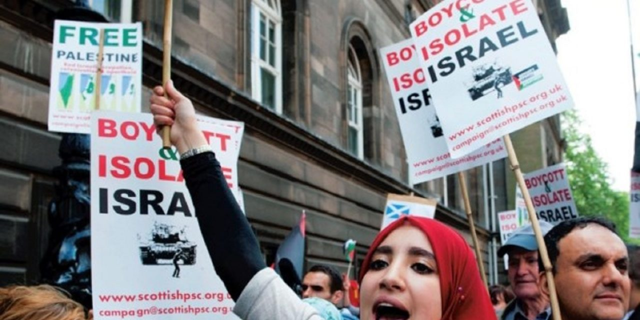 Exposed: Shocking anti-Semitism at Scottish Palestinian Solidarity Campaign