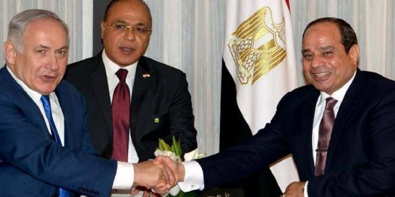 Egypt's Sissi and Israel's Netanyahu meet in first ever public talks