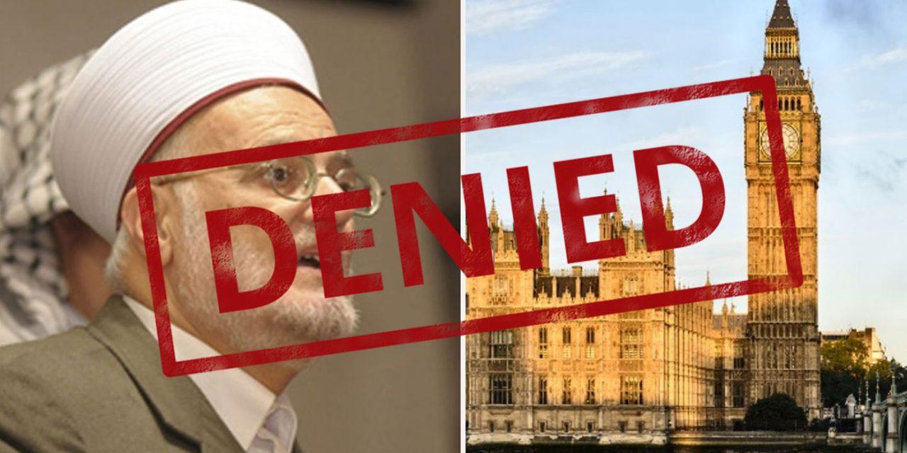 VICTORY! Islamic extremist sheikh DENIED entry to UK