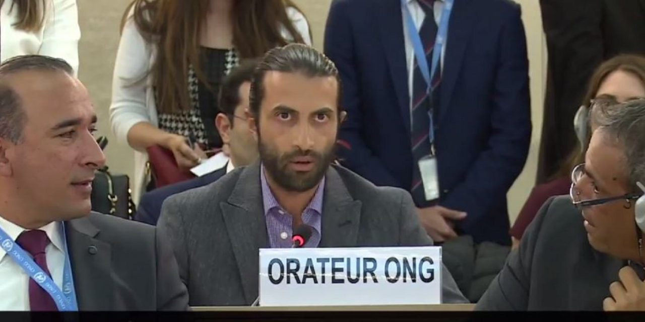 WATCH: Son of Hamas founder stuns Palestinians at the UN with defence of Israel
