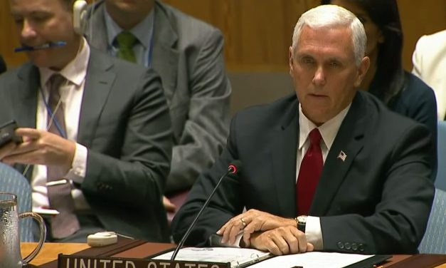 """Vice President Pence calls for UN reform and SLAMS anti-Israel bias as """"anti-Semitism"""" and """"massive embarrassment"""""""