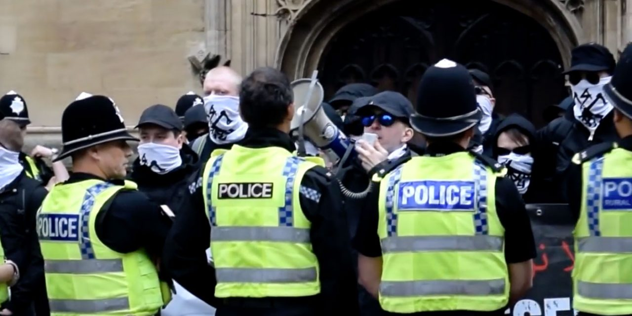 Four British men arrested under terrorism act for association with banned neo-Nazi group
