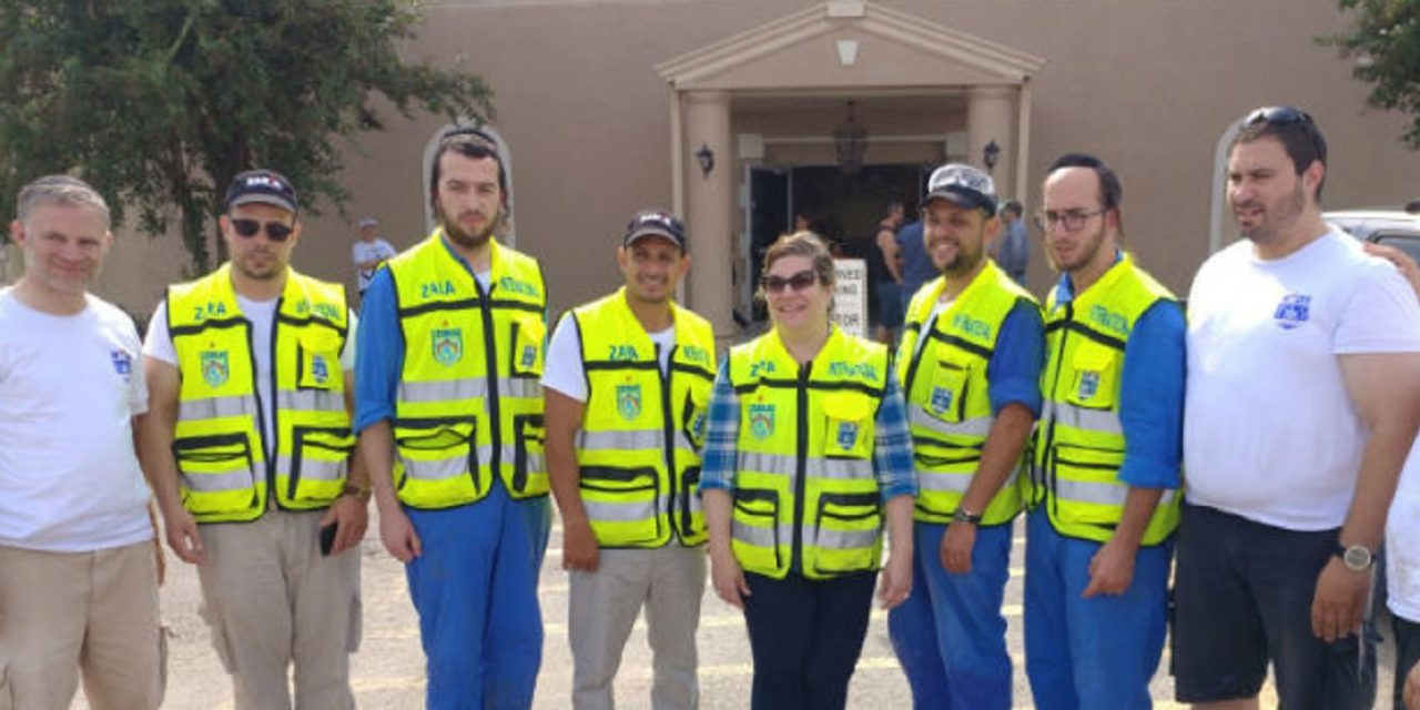 Amazing story of Israeli rescue team helping pro-Israel Christians in Houston