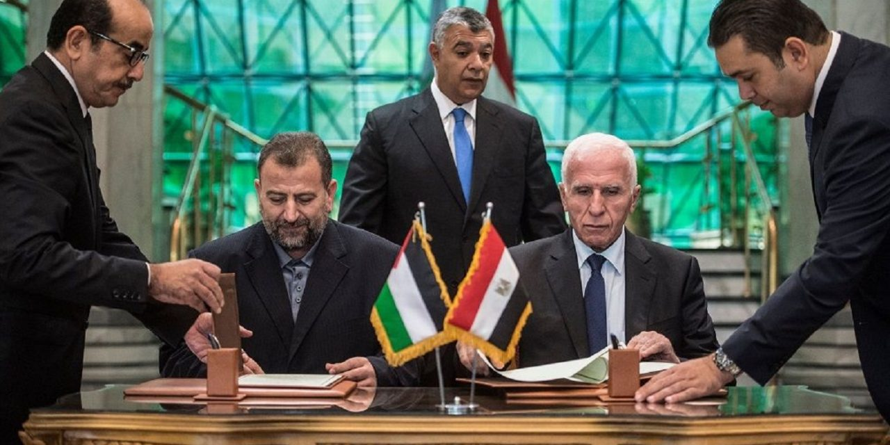 BREAKING: Hamas and Fatah sign reconciliation deal in Cairo
