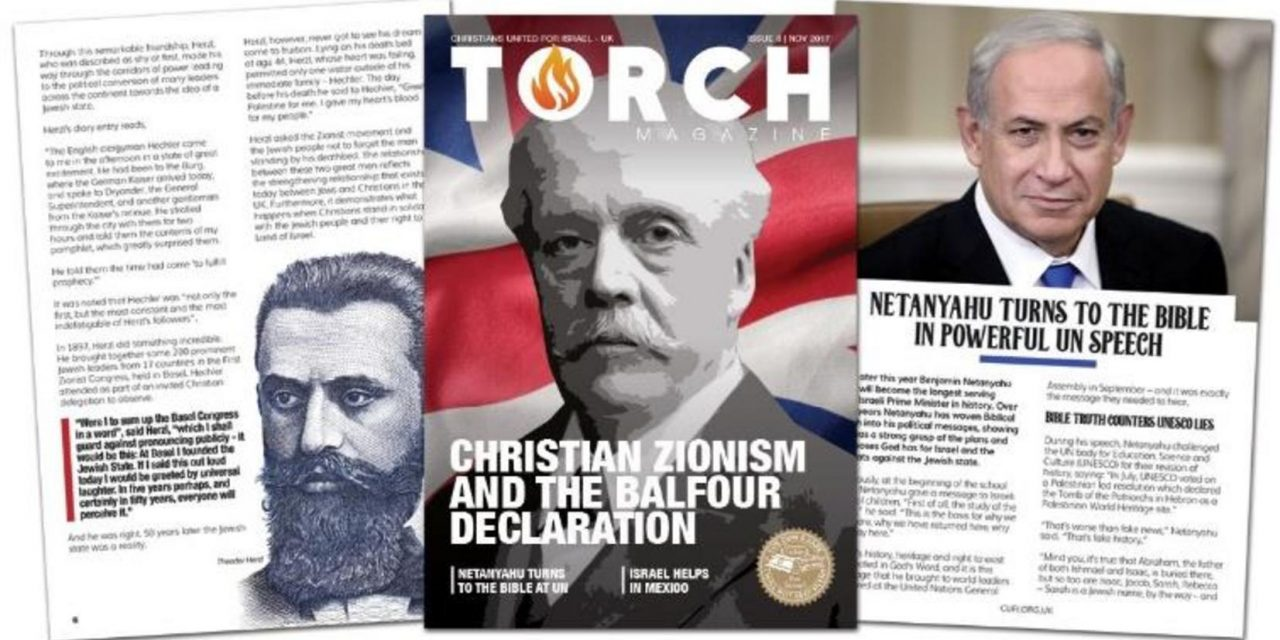 Christian Zionism and the Balfour Declaration | Receive your copy of TORCH magazine