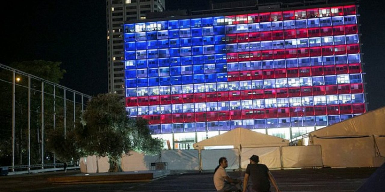 Israel stands with US in mourning over Las Vegas