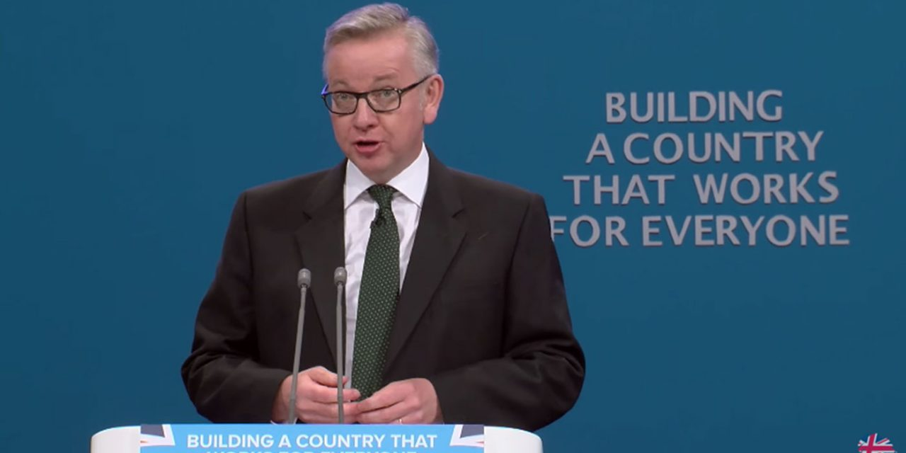 "Michael Gove says ""Anti-Zionism is anti-Semitism"" as he speaks out for Israel"