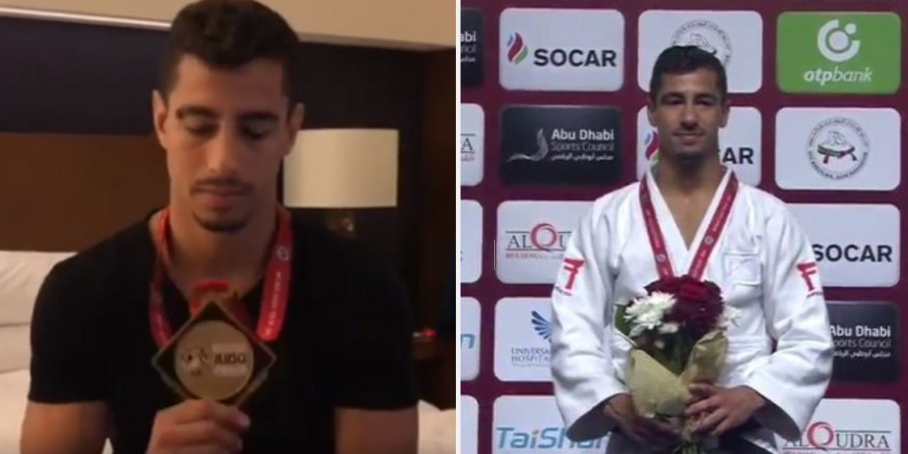 """Israeli judo medalist speaks for first time after Abu Dhabi refused to play anthem: """"I decided to sing Hatikvah on the podium"""""""