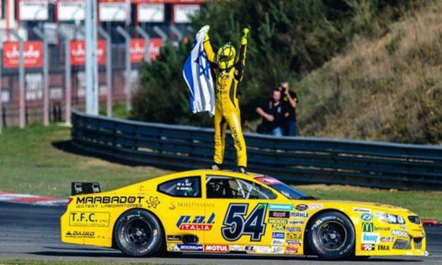 Israeli driver wins Euro NASCAR championship