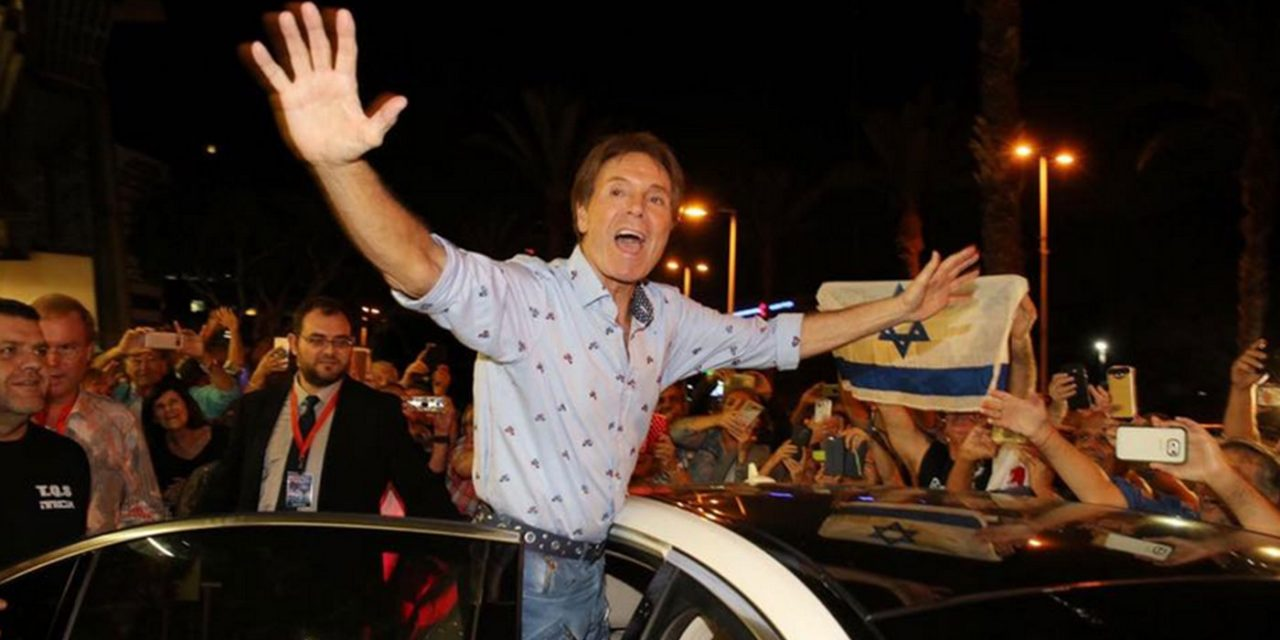 Sir Cliff Richard visits Israel, performs in Tel Aviv and promotes peace with Israeli youth