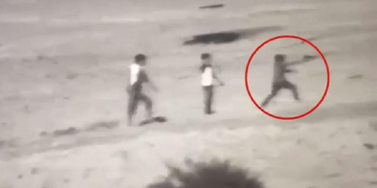 WATCH: Israel releases shocking footage of Gazan child shooting at Israelis
