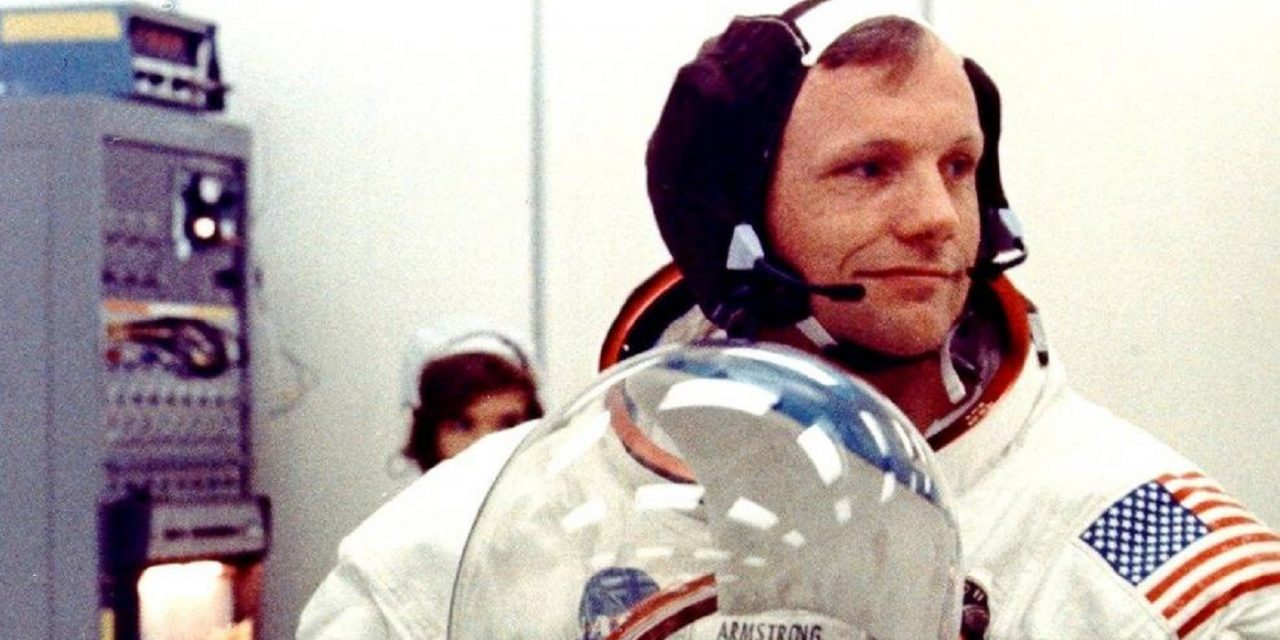 "When Neil Armstrong walked on Jerusalem: ""I am more excited stepping on these stones than stepping on the moon"""
