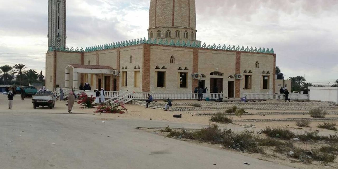 PA official newspaper claims Israel behind Egypt mosque massacre