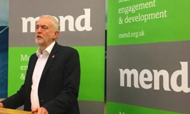 Corbyn hosts extremist linked 'MEND' in Parliament on eve of Balfour Day